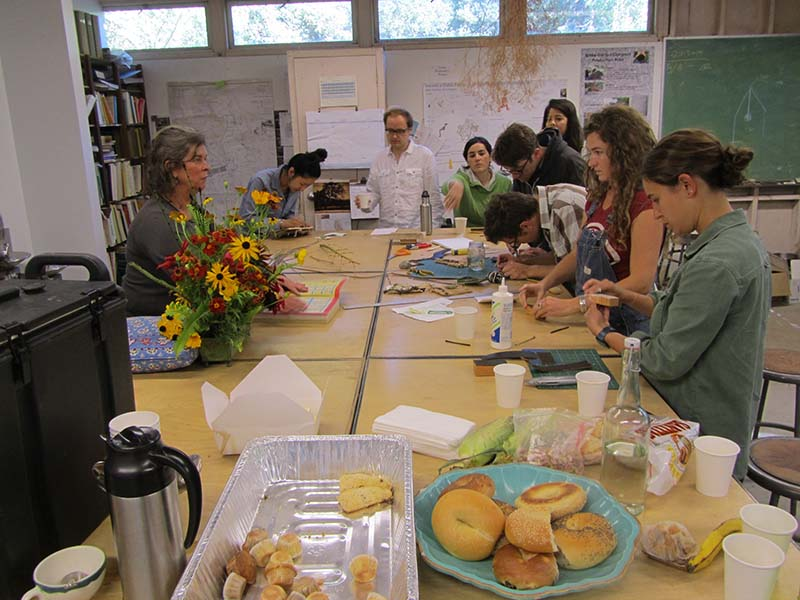 ... U.C. Berkeley Landscape Architecture Department, We Held A Cook Out And  A Campout At The Garden. During Breakfast We Had A Quick Craft Activity  Making ...